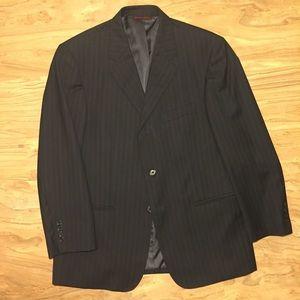 Pronto Uomo Couture 39S Black Wool Blazer